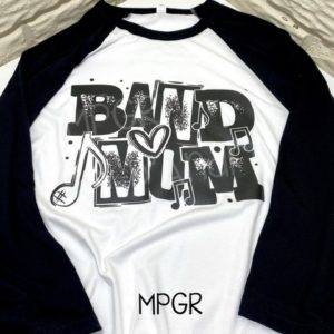 Band Mom Tee by MyPixieGirlsRuffles
