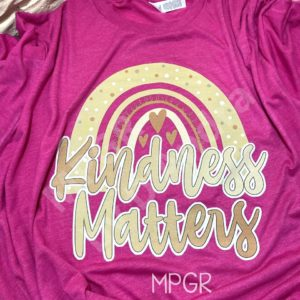 kindness rainbow tee by MyPixieGirlsRuffles